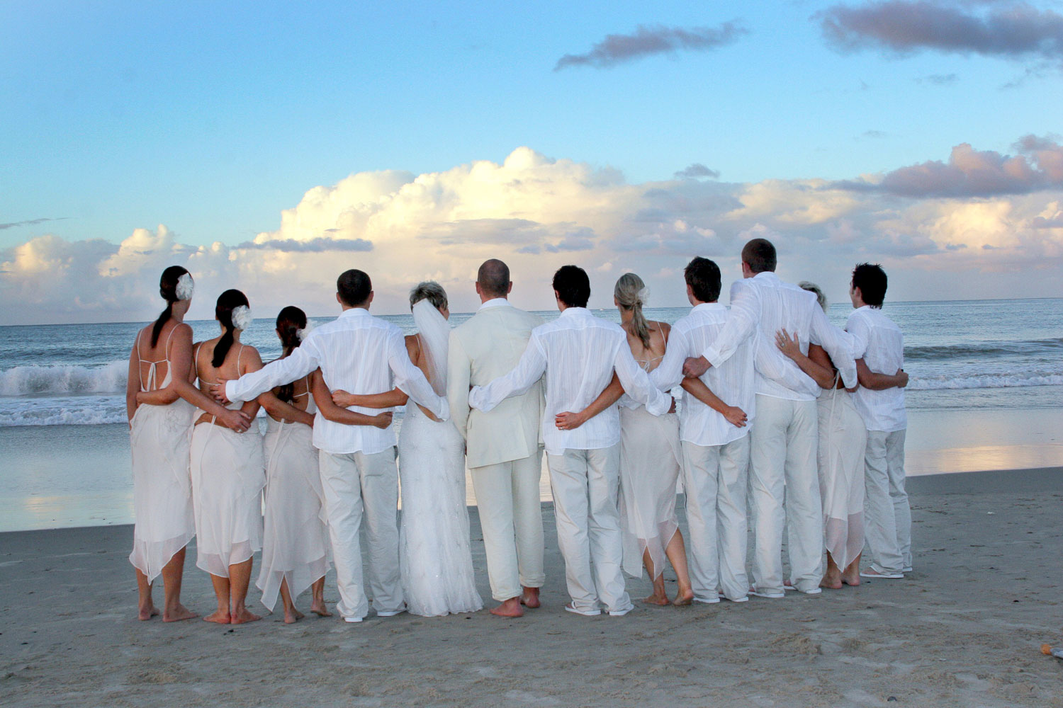 noosa bridal party main beach noosa