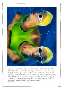 advertising photographer Craig Holmes Underwater photography of swimmer